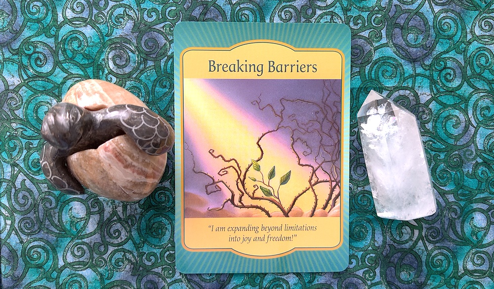 Breaking Barriers from the Gateway Oracle Deck.